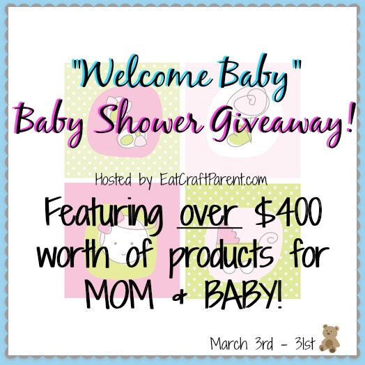 Enter to win over 400 worth of products for mom and baby