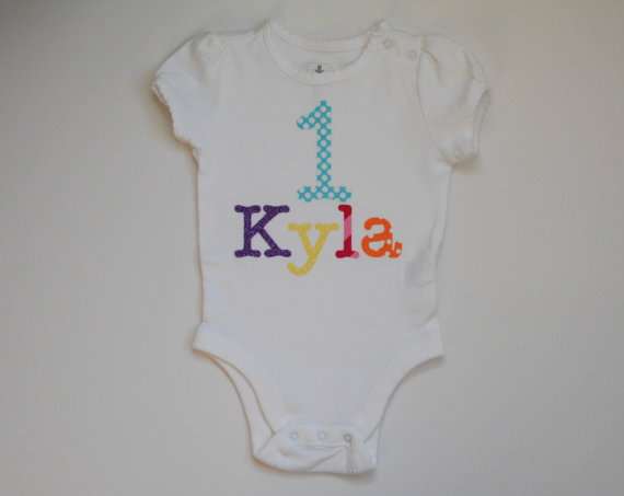 Kyla 1st Birthday Shirt