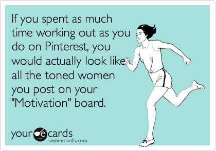 pinterest working out
