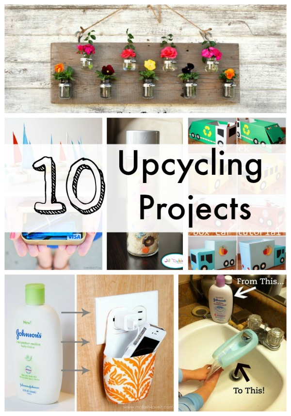 10 Upcycling Projects For Everyday Household Products