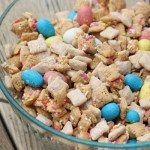 Easter Muddy Buddies #BunnyTrail + Hershey #Giveaway
