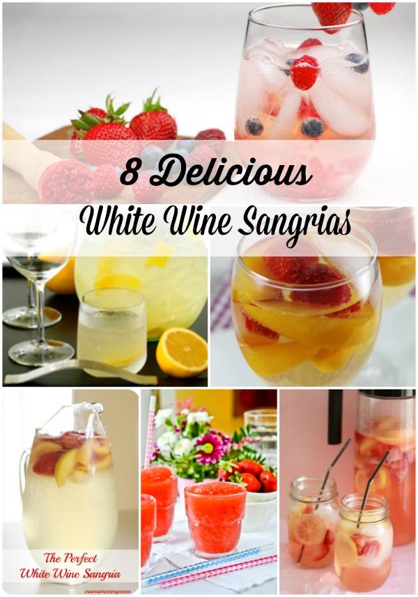 White Wine Sangrias