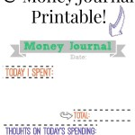 6 Saving Tips + Money Journal