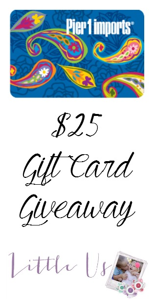 Pier 1 Imports Gift Card Giveaway