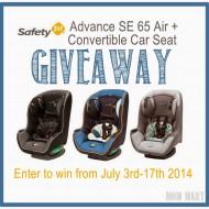 Safety 1st Advance DE 65 Air #Giveaway