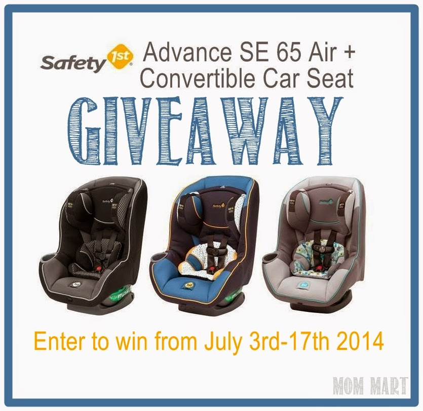 Safety 1st Advance SE 65 Air Giveaway