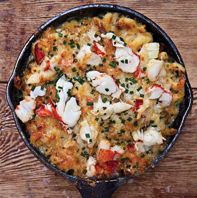 Lobster and Mac Cheese