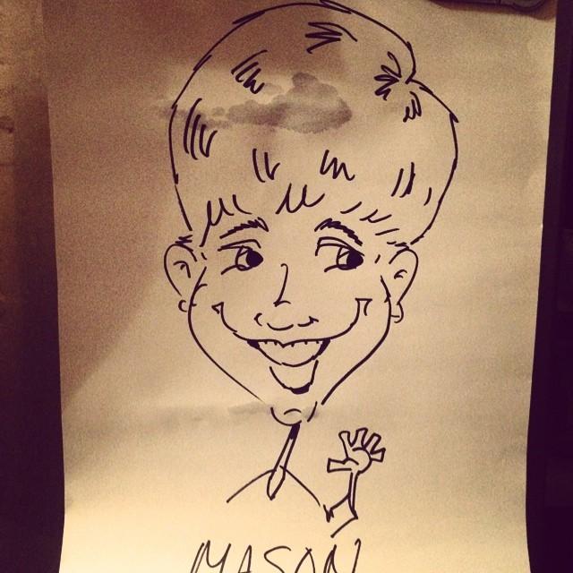Mason Caricatures