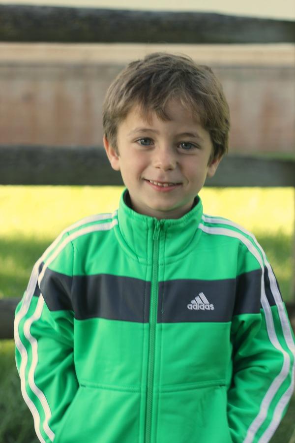 Mason in adidas