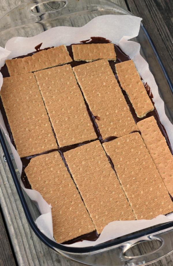 add graham crackers