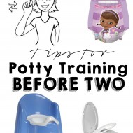 Tips for Potty Training BEFORE TWO