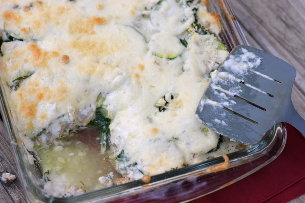 Zucchini Kale Turkey Casserole