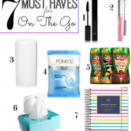 7 Must Haves For On The Go