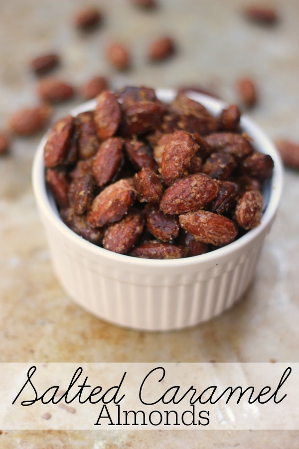 Salted Caramel Almonds Recipe