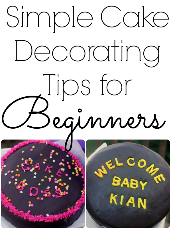 Cake Decorating Tips Beginners : 5 Tips For Decorating Cakes for Beginners - Little Us