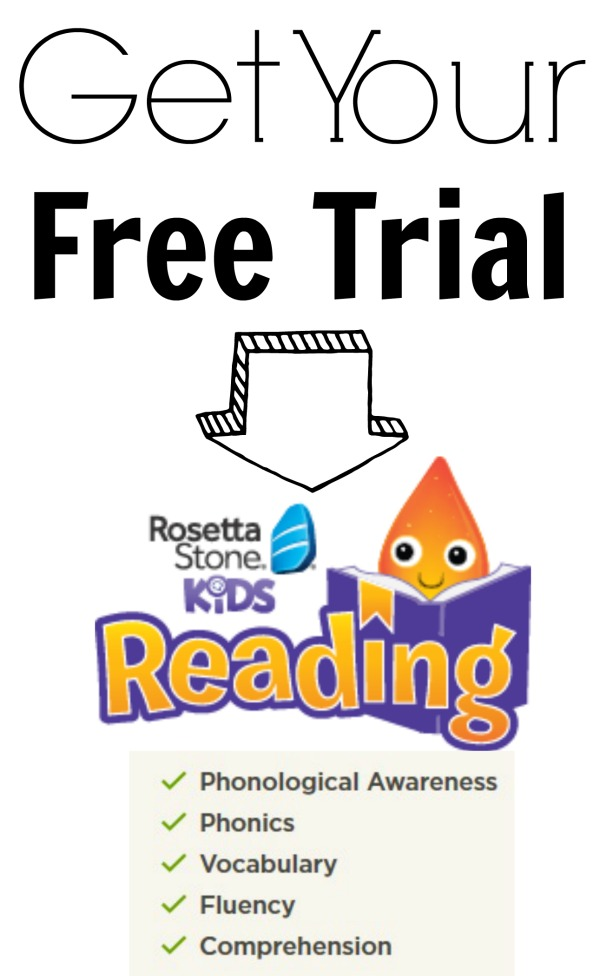 Free Trial Rosetta Stone Kids Reading