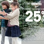 #GiveHappy with 25% Off OshKosh B'Gosh Coupon