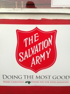 the salvation army red kettle