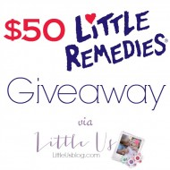 The First Time Your Baby Gets Sick + Little Remedies #Giveaway