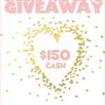 $150 Share the Love Giveaway