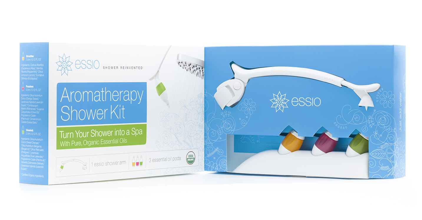 ESSIO Aromatherapy Shower Kit Review - Little Us