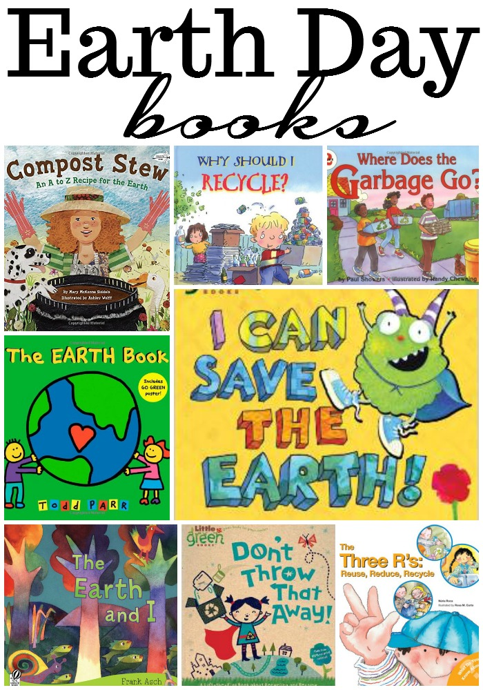 Earth Day Books for preschoolers