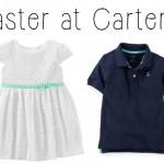 Spring Carter's Haul + Carter's Coupon Code #SpringIntoCarters