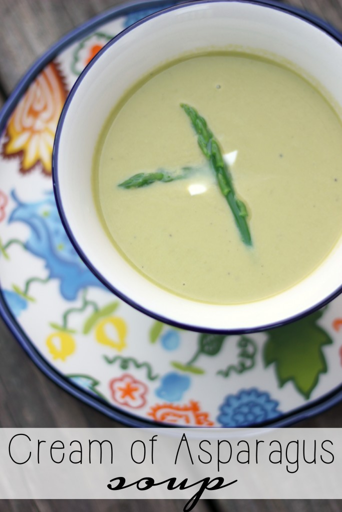 Cream of Asparagus Soup (delicious)