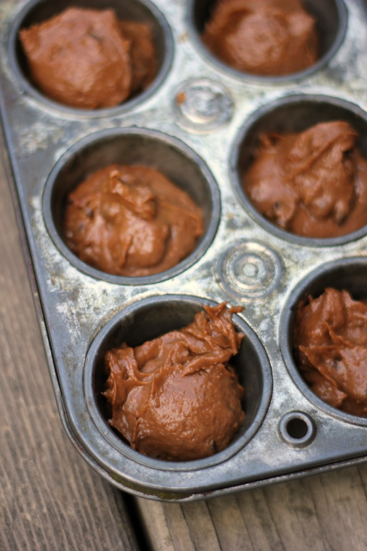 blender muffins in tin