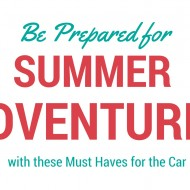Summer Adventure Car Must-Haves