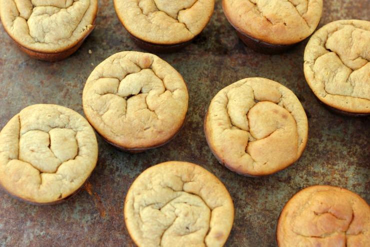 peanut butter blender muffins
