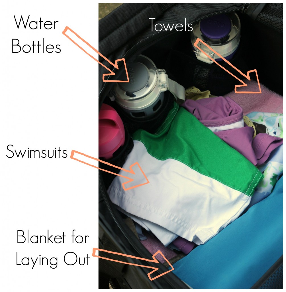 swim bag must haves