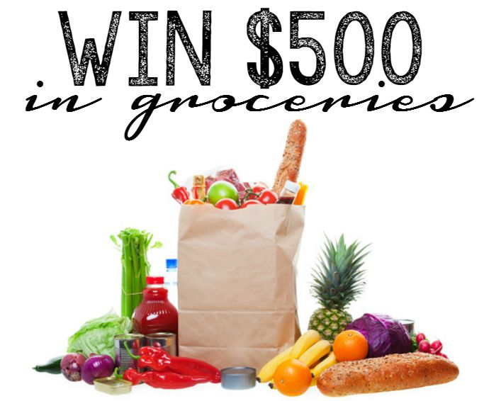 win 500 in groceries
