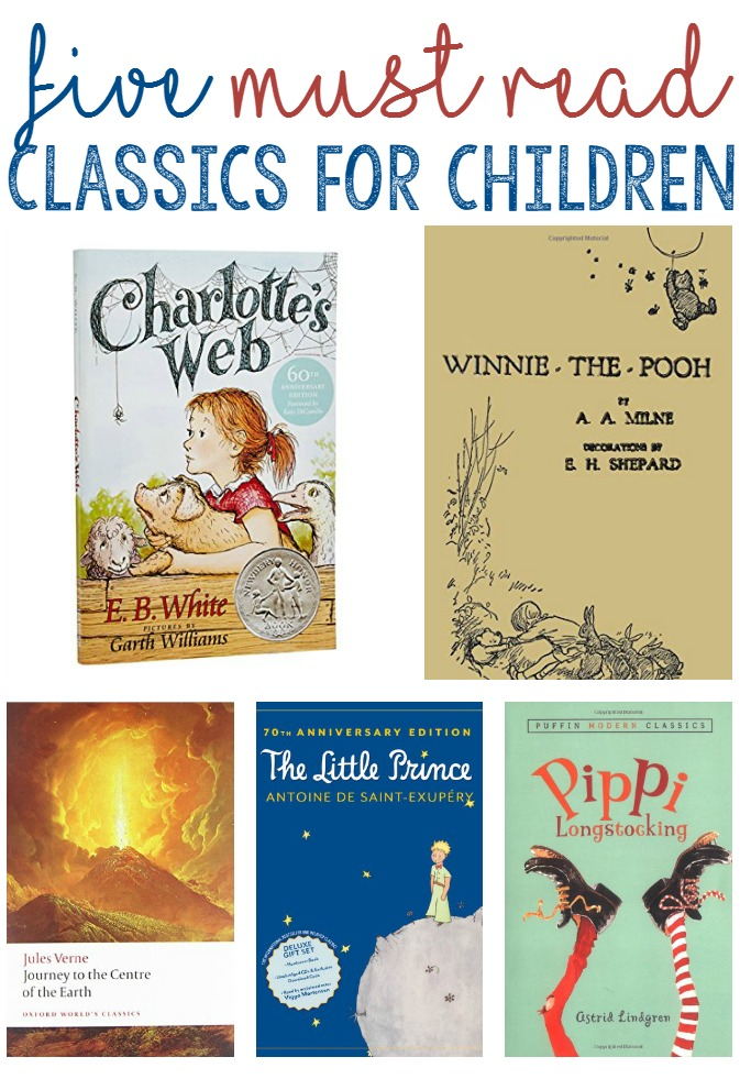 5 Best Classic Books for Children - Little Us