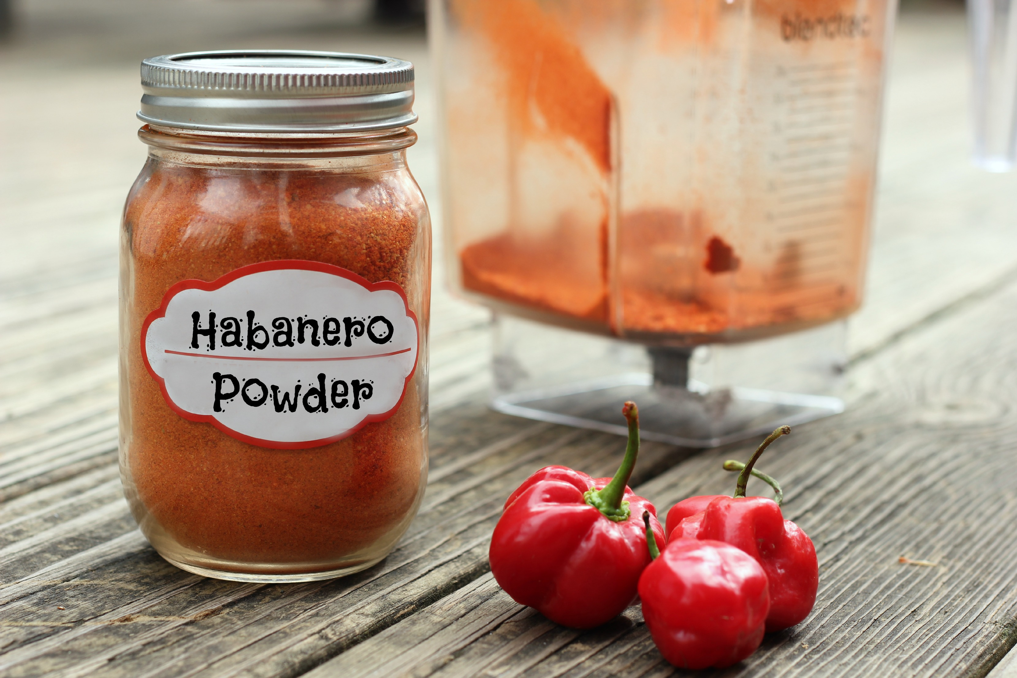 How to Make Habanero Powder - Little Us