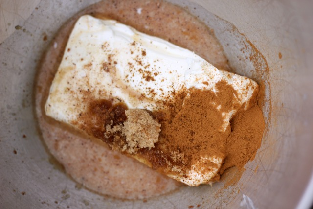 cinnamon spice dip ingredients