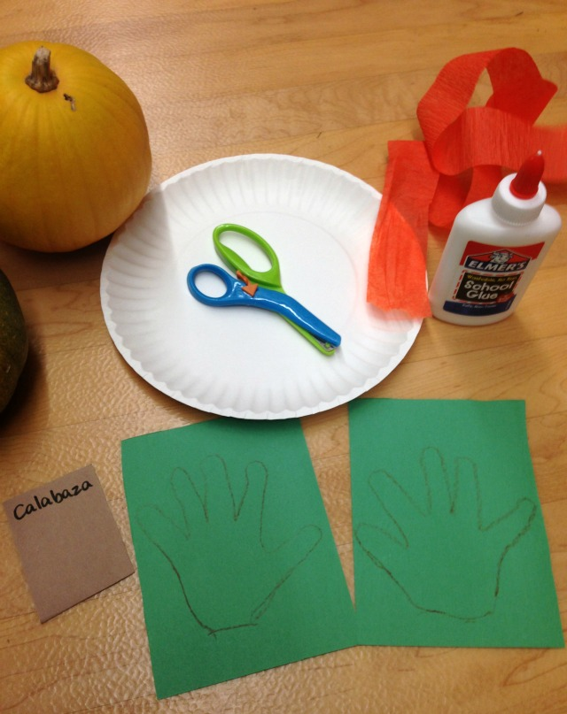 pumpkin craft for toddlers 1