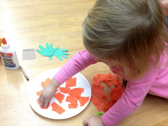 pumpkin craft for toddlers 3