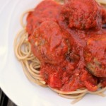 Homemade Mozzarella Stuffed Meatballs