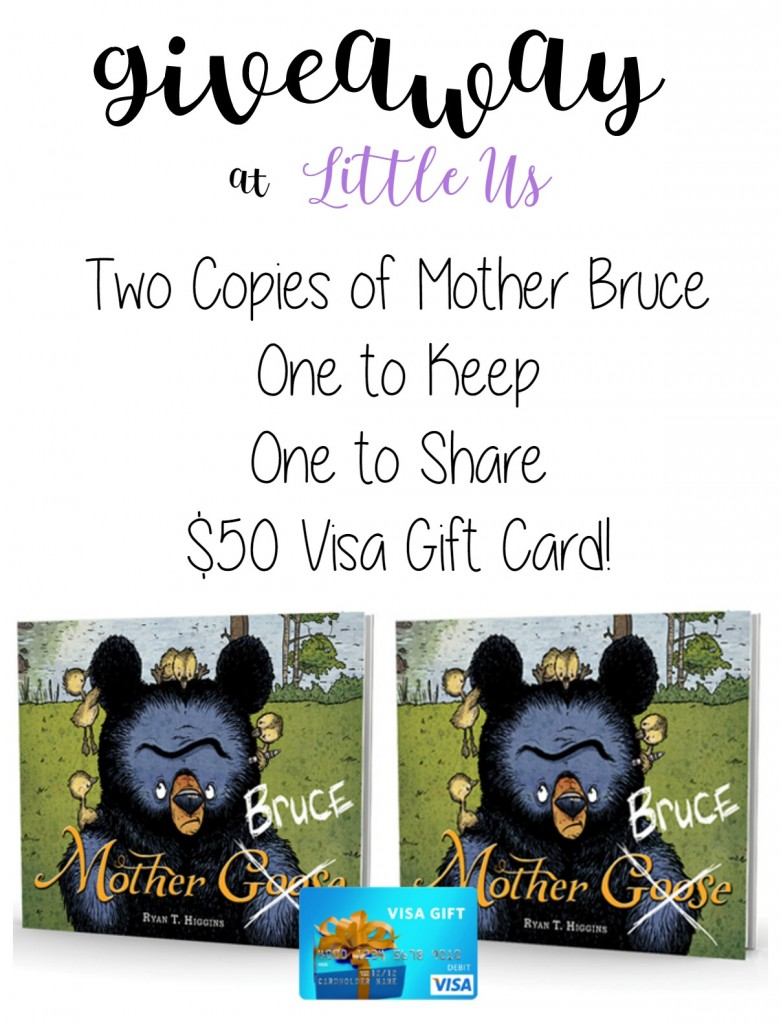 Mother Bruce Giveaway at Little Us