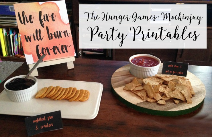 The Hunger Games: Mockingjay Part 2 #Free Party Printables + $100 Fandango Giveaway