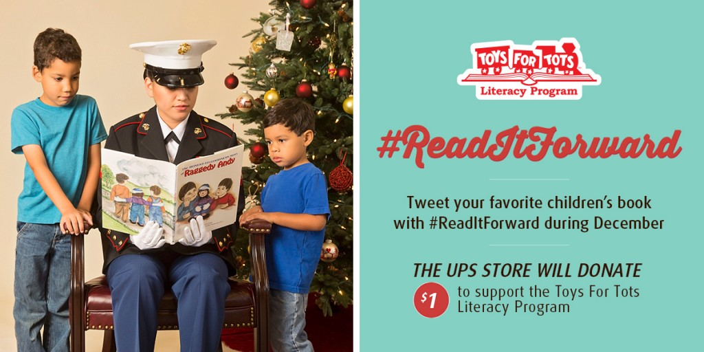 The UPS Store Toys for Tots Twitter Graphic