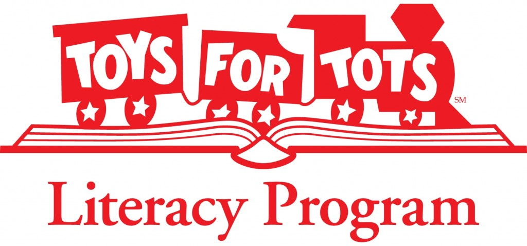 Toys for Tots Literacy Program Logo