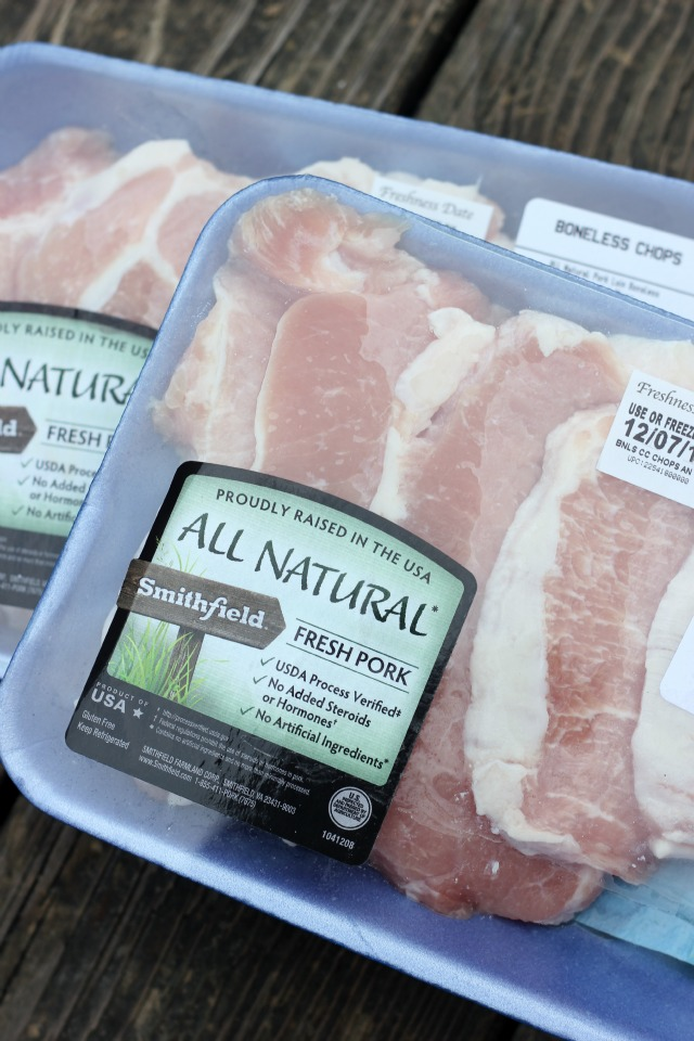 smithfield natural boneless pork chops