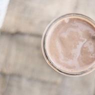 Almond Mocha Protein Shake