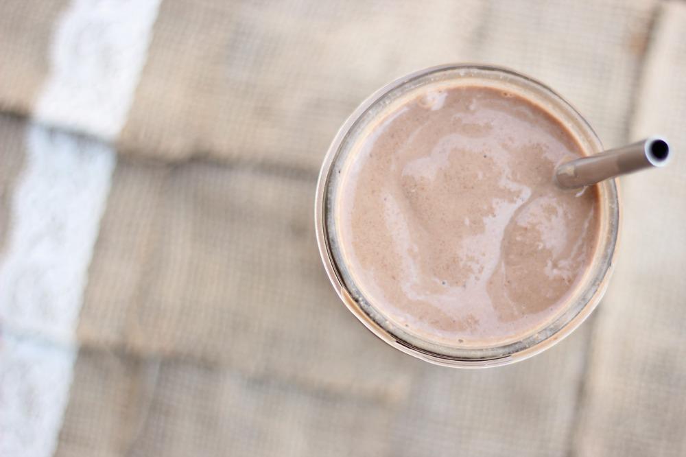 Almond Mocha Protein Shake 3