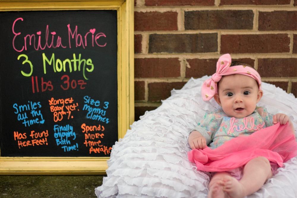 Emilia 3 months EFB