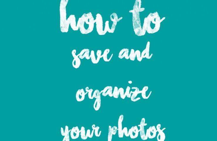 How to Save & Organize Your Photos + MiMedia 500GB Yearly Membership Giveaway