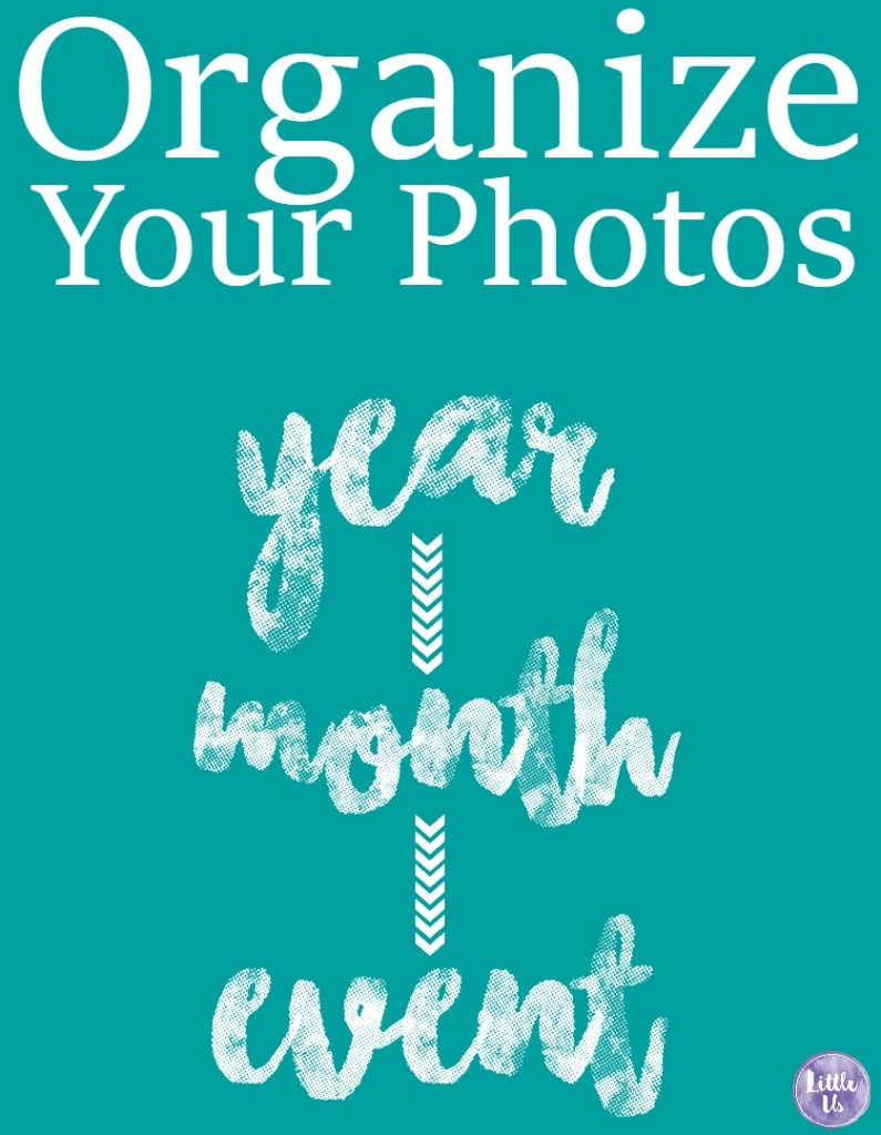 organize your photos