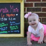 Emilia is 6 Months